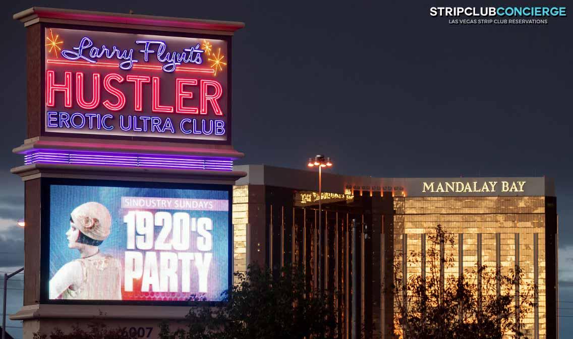 Hustler Open Bar Sunday Industry Night