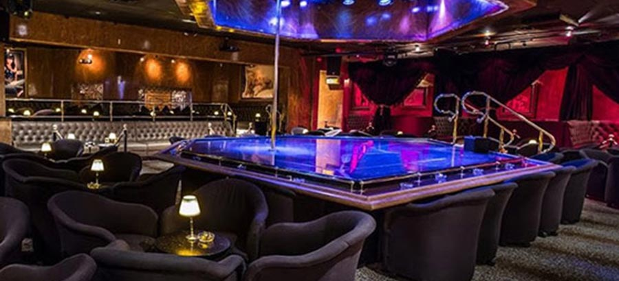 Spearmint Rhino Las Vegas Seating