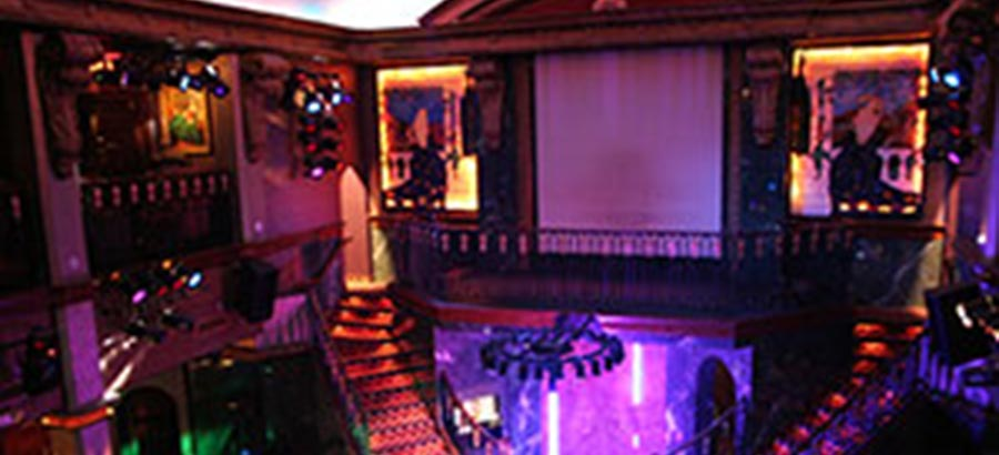 Treasures Strip Club Las Vegas Main Room